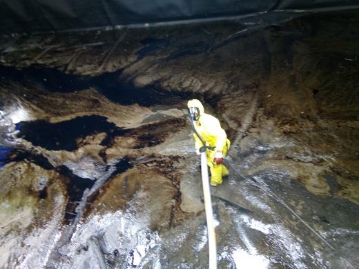 ovalis effectue les travaux de nettoyage haute pression