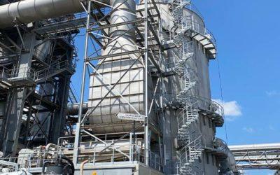 Nettoyage de diverses installations dans une usine landaise