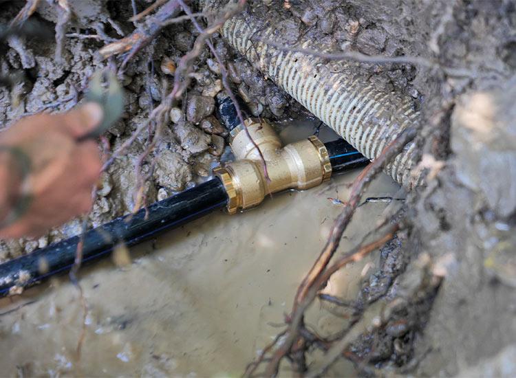 réparation de fuite d'eau par Ovalis